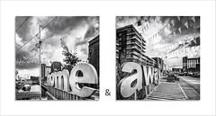 Home & Away - Vaartkom Leuven (David Jonck) Tags: vlaamsbrabant 24mm framed nikon bnw city belgi leuven away blackwhite home vaartkom belgium homeaway tiltshift blackandwhite davidjonck bw d750 harbour haven belgi