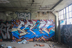 Senic (NJphotograffer) Tags: graffiti graff new jersey nj newark abandoned building urban explore senic clout club