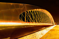 Troja Bridge (milan.humaj) Tags: night prague holeovice vltava river bridge czech republic praha czechrepublic bohemia city town traffic europe centraleurope