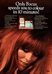Focus Colorcade Hair Dye (jerkingchicken) Tags: vintagebritishad haircolor hairdye hairstyle