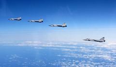 (aeroman3) Tags: equipment aircraft jet fighter qra russian interception mikoyan mig31 foreignaircraft baltic balticairspace