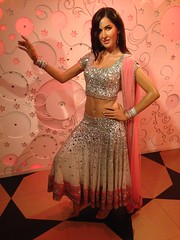 Katrina Kaif figure at Madame Tussauds London