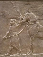 Horse Tamer (Aidan McRae Thomson) Tags: nineveh relief britishmuseum london assyrian sculpture mesopotamia ancient