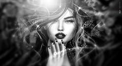 S... I'  dre...  M &  (AyE  I'  voT) Tags: digitalart digitalpainting digitalfantasy painting artworks portraits beauty illustrations artportrait ritratto retrato portrature dreamy vision magical emotionalart emotional dreams blackwhite bw bianconero