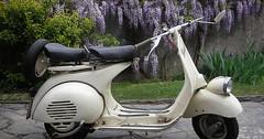 """Der Motorroller. Die Motorroller. Das hier ist ein ziemlich alter Motorroller, eine Vespa. • <a style=""""font-size:0.8em;"""" href=""""http://www.flickr.com/photos/42554185@N00/30796412470/"""" target=""""_blank"""">View on Flickr</a>"""