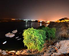 A Nubian night @ www.rou5atravels.com (nomade_du_temps) Tags: travel egypt nubia nuba valley nile nikond7000 aswan island beauty night photography boats trees nature star sky rou5a travels