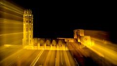 The weekend is nearby here and the ancient #cathedral Seu Vella of Lleida wants to go for a walk.November 2016.  #aralleida #turismedelleida #testimolleida #total_lleida  #igerslleida  #postureiglleida  #raconsde_lleida #elmeupetitpais #discover_catalonia (eloysarrat) Tags: postureiglleida turismedelleida igerslleida asiesespana poblescatalans supremenightshots estaciondelsilencio kingsvillages paisatgesdecatalunya asiesnoches raconsdecatalunya descobreixlleida testimolleida cathedral aralleida raconsdelleida okcatalunya totallleida vuestrasnoches totalcatalunya clikcat landscapelovers igerscatalonia okstreets love elmeupetitpais worldbeststreet patrimonicultural discovercatalonia turismoeuropa descobreixcatalunya lleida night seuvella longexposition