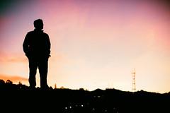 Pocket Man (Thomas Hawk) Tags: america california mission missiondistrict sf sanfrancisco scottjordan scottevest sutrotower usa unitedstates unitedstatesofamerica sunset fav10 fav25