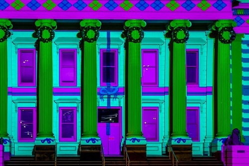 Geelong Town Hall Xmas Projections-4