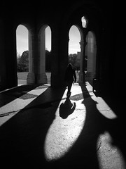 Light and shadow. (victorialoisance) Tags: ombre point de fuite personne ombres architecture lyon france