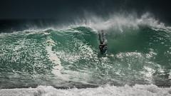 Drop into pit (AndreDiener) Tags: boogyboard surfing waves bigwaves sea ocean storm atlantic