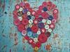 love (polletjes) Tags: hart heart knopen knopfe buttons red huge rot rood blauw blue blau azur love liebe amour liefde