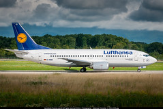 [GVA.2014] #Lufthansa #LH #Boeing #B733 #D-ABEI #Bamberg #awp (CHR / AeroWorldpictures Team) Tags: lufthansa boeing 737330 cn 25359 2158 reg dabei aircraft name bamberg engines 2x cfmi cfm563b1 history 24oct1991 first flight renton rnt wa usa 07nov1991 delivered lh dlh configured cy127 2011 reconfigured cy140 29apr2013 std berlin sxf germany 06feb2014 returned service 17dec2015 tsfd automaticllc n359au stored orlando sfb flusa planespotting geneva b737 b737300 b733 plane aircrafts cointrin gva lsgg switzerland taxiway nikon d300s zoomlenses 70300vr lr lightroom