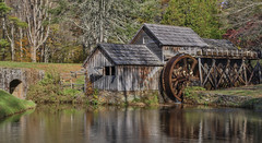 Working Mill (SDRPhoto321) Tags: art air architecture blue color canon clouds colorful dof dark depthoffield depth expression eos elevated exposure fest mill water wheel great haven inspiring inspire light lands line mighty new nature national outdoor outside perspective park reflection renaissance sunny sun tree treasure trees vista vintage us virginia blueridgeparkway daarklands saariysqualitypictures