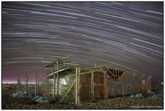 ST#47-52 Marconi Research Shed (seb a.k.a. panq) Tags: 52 52weeks stars night startrails st sebastianbakajphotography marconi radio signal shed dungeness kent shingles beach abandoned ruins