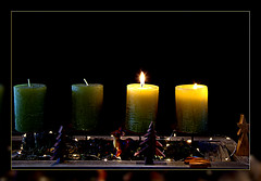 I wish my Flickr friends a peaceful and quiet 2nd Advent (scorpion (13)) Tags: 2nd advent candles photoart frame color creative stilllife arrangement