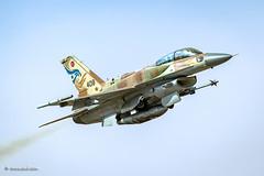 Speeding bullet!! (xnir) Tags: israel f16 falcon flight fightingfalcon viper negev outdoor flying speed low nir nirbenyosef xnir aviation military lockheedmartin generaldynamics
