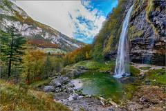 Fontanon di Goriuda. (valpil58) Tags: fontanondigoriuda sellanevea friuli lan panorama cascata waterfall nikond600 sigma1224mmii wide hdr