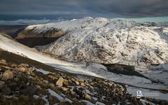 Styhead (GraemeKelly) Tags: graemekellyphotography landscape landscapes lakedistrict nationalpark cumbria mountains mountain snow snowcapped styhead tarn borrowdale great gable