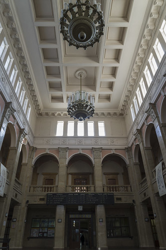 Interior of the Ruse railway station, 12.10.2014.