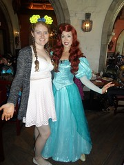 Florida 2016 (Elysia in Wonderland) Tags: disney world orlando florida elysia holiday 2016 akershus epcot royal banquet hall storybook princess breakfast little mermaid ariel lucy