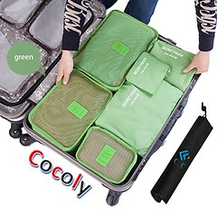 Cocoly 7pcs travel Organizers Packing Cubes Luggage Organizers Compression Pouches (wupplestravel) Tags: 7pcs cocoly compression cubes luggage organizers packing pouches travel