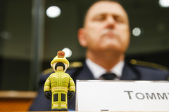 Bringing firefighters to the European Parliament
