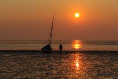 Sonnenuntergang in Ostfriesland (Fotos4RR) Tags: sunset beach strand sonnenuntergang ostfriesland norddeich sonne friesland frisia eastfrisia flickrbronzetrophygroup
