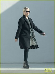 Dianna Agron has a business meeting (luulinh61) Tags: california sunglasses losangeles unitedstates coat meeting professional entertainment paparazzi blazer troika stylish peacoat suitjacket
