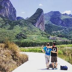 Rock & Wall, China climbing & love trip. Getu Valley, Pussa Yan.