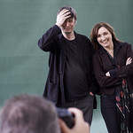 Viv Albertine and Ian Rankin