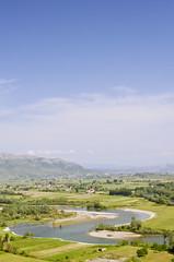 S Curve (Mucahit Cetin) Tags: river s curve albania scutari kir scurve shkodra rozafa skadar shqipria shkodr rozafacastle kalajaerozafs ikodra lumiikirit lumikir
