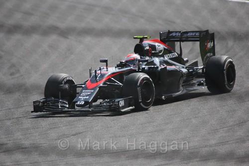 Jenson Button in the 2015 Belgium Grand Prix