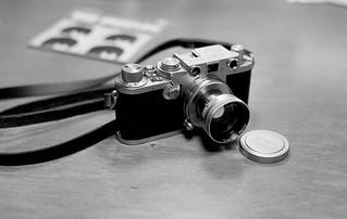 New Toy , Leica IIIF w/ Summitar