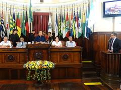 Discurso do vereador Andrigo de Carvalho