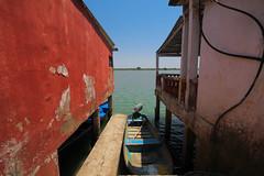 NoVenecia (jbilohaku) Tags: water mxico ro river mexico pier muelle boat agua pueblo h2o veracruz lancha bote tlacotalpan meksiko