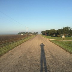 The Road Ahead. Day 153. Country Road 426 in Danevang, TX. Miles and miles and miles of farmland, the roads feel like treadmills. I'm definitely in Texas. #TheWorldWalk #travel #wwtheroadahead