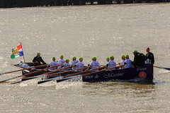 Boats (yve1964) Tags: london water thames sailboat river boats boat sailing flag sails sailors bouy riverthames oars oarsman stkathrinesdock