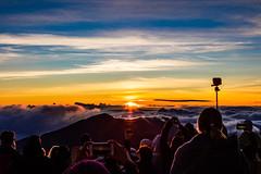 Haleakala Sunrise, Maui - 9 (www.bazpics.com) Tags: park cloud mountain monument rock clouds sunrise landscape volcano hawaii lava us rocks unitedstates cone maui busy national haleakala valley ash hi volcanic devastation cinder cindercone kula abovetheclouds devastated