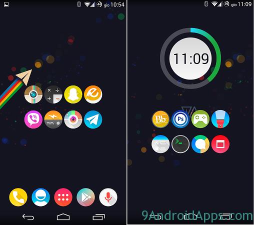 អាចនឹងលង់ ពេលបានតម្លើង Theme មួយនេះហើយ !!! (Theme Android)