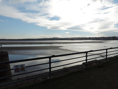 Tide starting to turn (s1ng0) Tags: water river westbank tide mersey widnes spikeisland