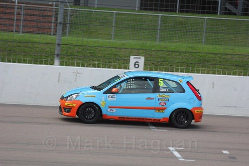 Ben Swift in Race 2, Fiesta Junior Championship, Rockingham, Sept 2015