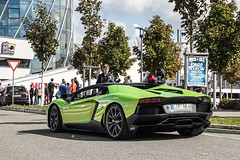 Roadster. (jansupercars) Tags: cars coffee car germany stuttgart automotive spotted lamborghini luxury supercars roadster carphotography 2015 carporn carpictures motorworld autogespot aventador lp700