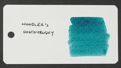 Noodler's Dostoyevsky - Word Card