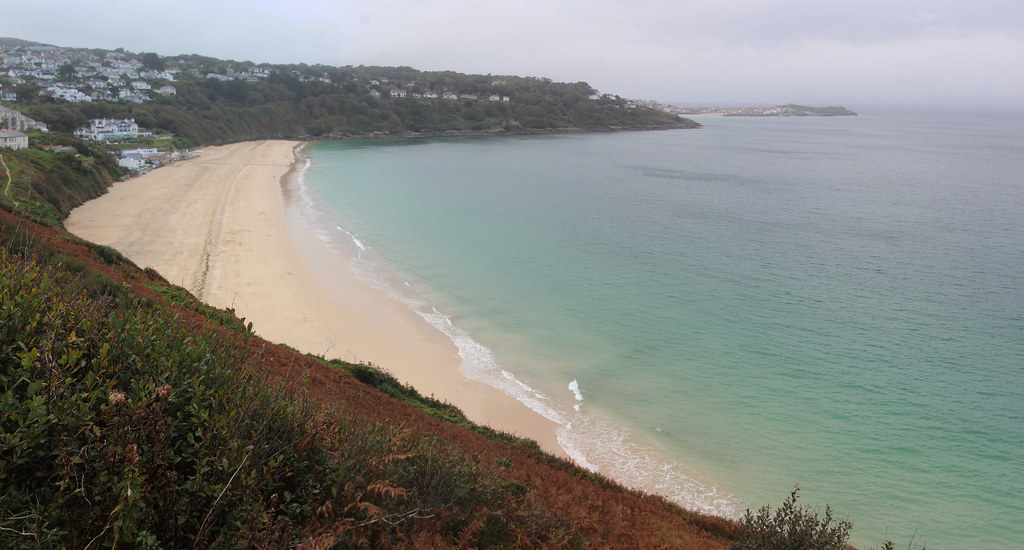 Panorama: Carbis Bay Beach