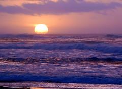 (vanessadoulames) Tags: ocean california sunset beach monterey surf waves norcal asilomar