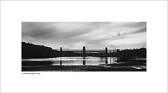 Britannia Bridge (Charlie Pragnell) Tags: blackwhite bridges anglesey northwales britanniabridge blackwhitefineart olympusuk olympuseurope olympusomd wwwcharlespragnellphotographynet