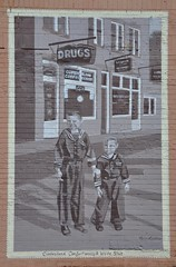Elkhorn City, Kentucky (1 of 3) (Bob McGilvray Jr.) Tags: art history wall mural paint kentucky ky nostalgic blocks elkhorncity