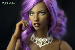 DonatellaCrow. The Envy. (U-Gin Starr) Tags: brown amanda beauty skin caramel honey dollshe dollshecraft
