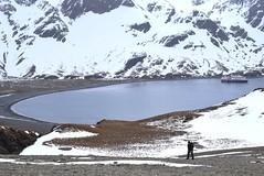 South Georgia. Fortuna Bay. Shackleton hike.  Read below. (Anne David 2012) Tags: antarctica southgeorgia hurtigruten fortunabay shackletonhike mvfram fortunabaytostromness davidontheshackletonhike picturesofshackletonhike